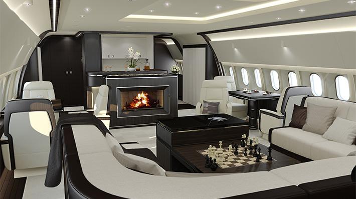 Bespoke Private Jet Interiors Luxury Safes