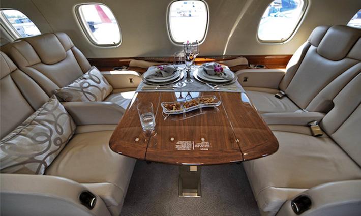 Bespoke Private Jet Interiors