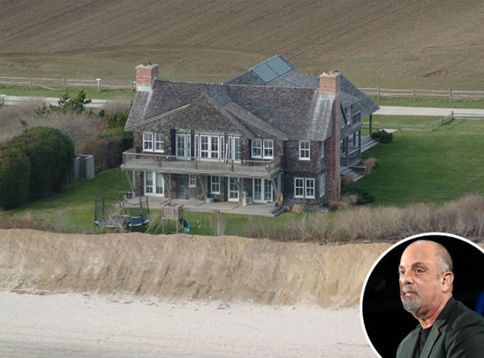 Celebrity homes - Billy Joal House celebrity homes MOST EXPENSIVE CELEBRITY HOMES IN THE HAMPTONS NEIGHBORHOOD Billy Joal House