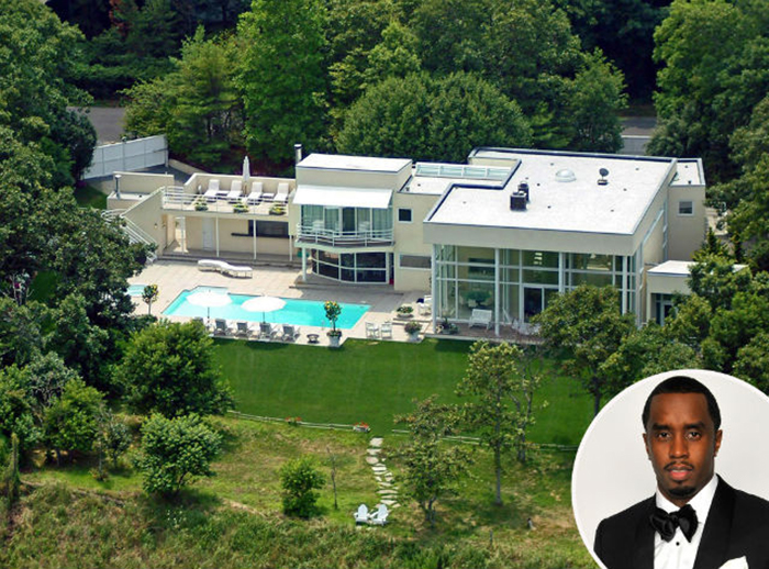 Celebrity Homes Sean Diddy House Most Expensive In The Hamptons Neighborhood