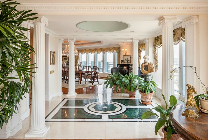 """""""The million-dollar question is how high can you go? We went high over hills to find the most expensive houses with the most expensive furniture."""" Top 10 houses with the most expensive furniture Top 10 houses with the most expensive furniture Top 10 houses with the most expensive furniture 15"""