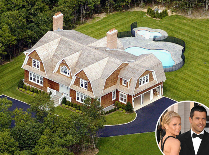 kelly ripa & mark consuelos house celebrity homes MOST EXPENSIVE CELEBRITY HOMES IN THE HAMPTONS NEIGHBORHOOD kelly ripa mark consuelos house