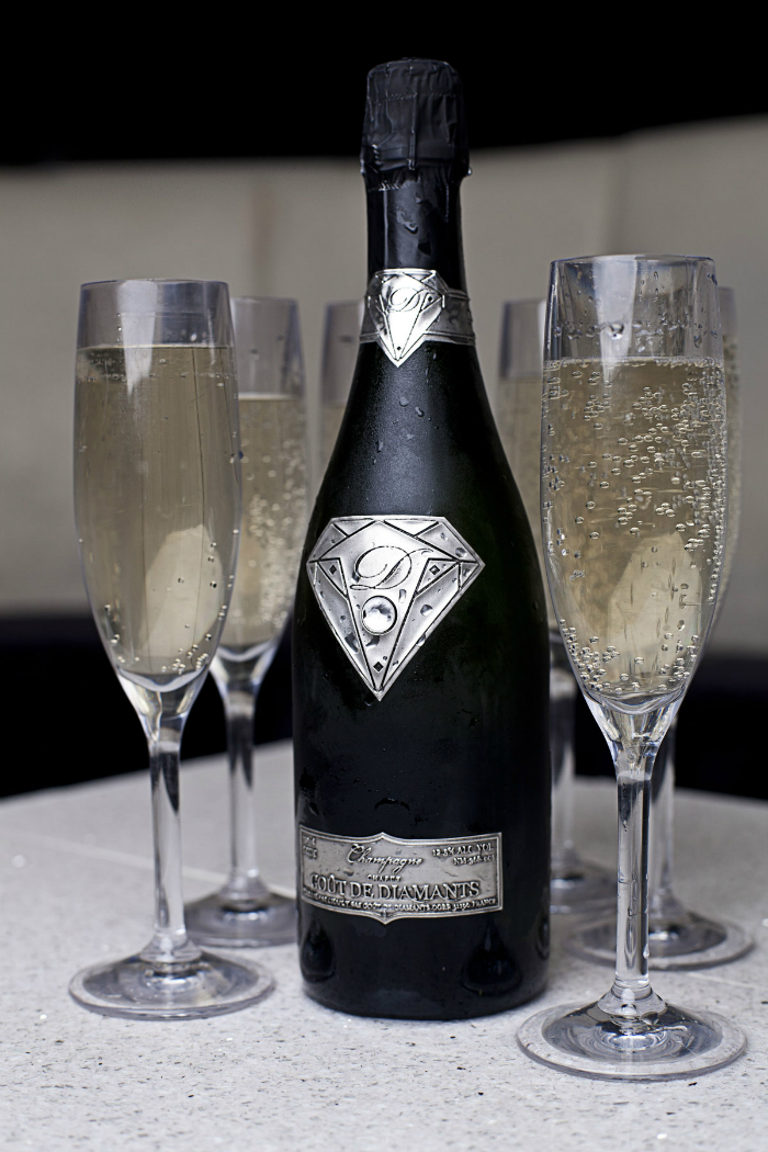 Goût de Diamants luxury bottle champagne Goût de Diamants – The Luxury Champagne 19