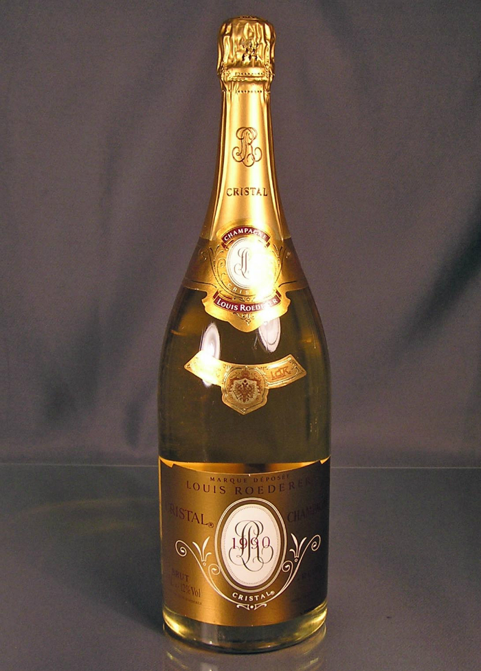 Top 10 best Champagnes To Celebrate The New Year Top 10 best Champagnes To Celebrate The New Year Top 10 best Champagnes To Celebrate The New Year Louis Roederer 1990 Cristal Brut