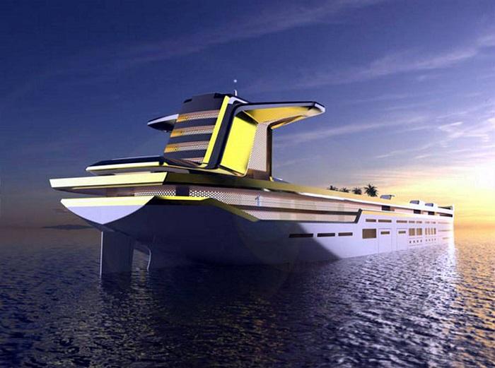 Imāra -  The World's Largest Yacht Design Concept Yacht Design Imāra –  The World's Largest Yacht Design Concept 0