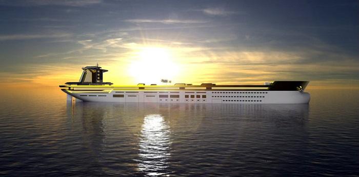 Imāra -  The World's Largest Yacht Design Concept Yacht Design Imāra –  The World's Largest Yacht Design Concept 31