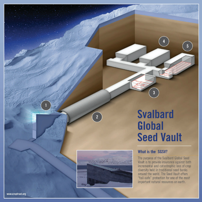 Top 10 World's Secret Vaults top 10 Top 10 of the World's Most unbreakable Secure Safes and Vaults SVALBARD GLOBAL SEED VAULT
