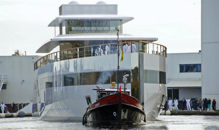 A peek into Steve Jobs luxury yacht  A peek into Steve Jobs luxury yacht  A peek into Steve Jobs luxury yacht  VENUS Yacht front view