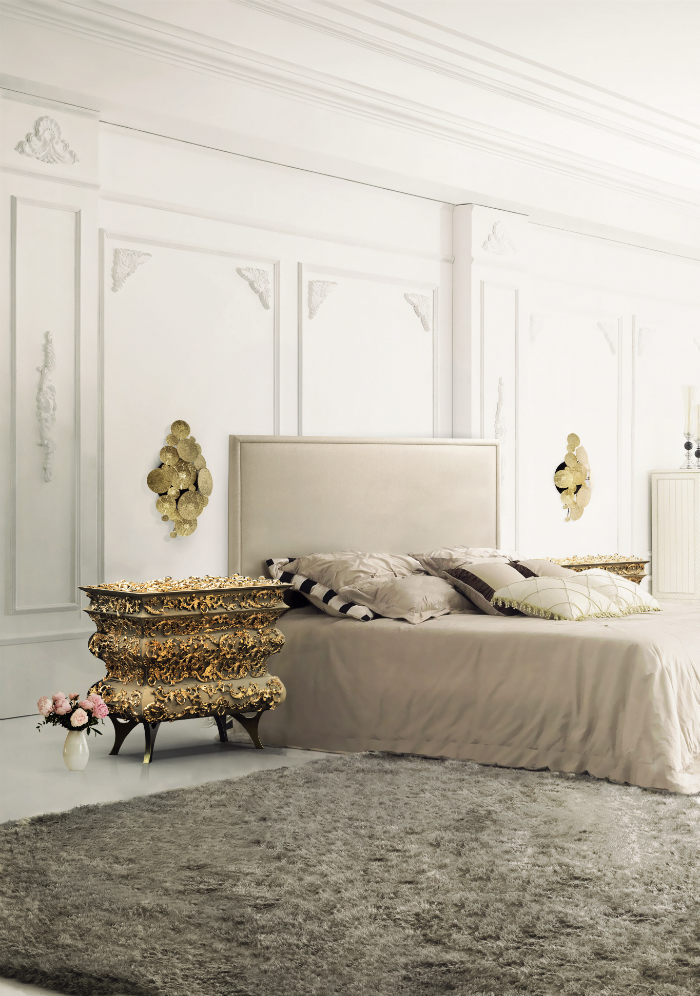 The most exclusive luxury master bedroom  The most exclusive luxury master bedroom  The most exclusive luxury master bedroom  bedside table crochet 1