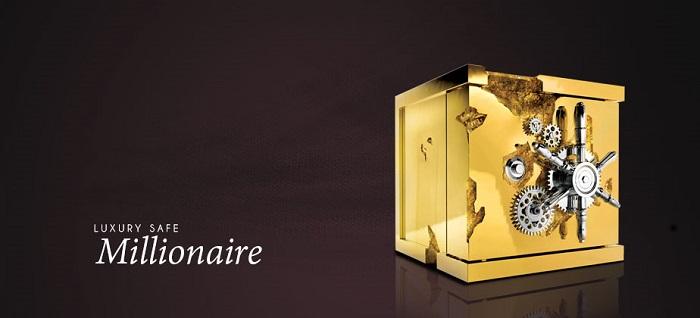 safes Glistening Gold: The Millionaire Safes Family by Boca do Lobo millionaire jerwelry