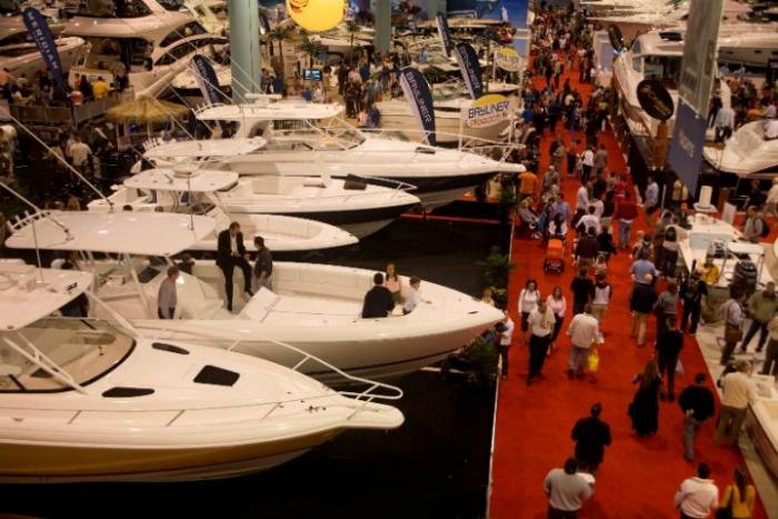 Convention Center II Miami boat shows report increases in attendance Miami boat shows report increases in attendance Convention Center II