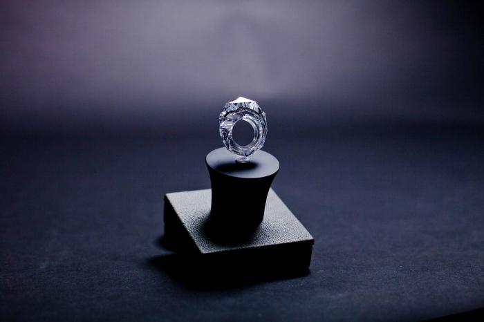 World's first all-diamond ring World's first all-diamond ring World's first all-diamond ring 21