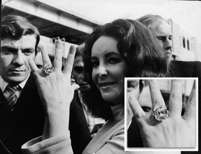 World's first all-diamond ring World's first all-diamond ring World's first all-diamond ring 7 elizabeth taylor engagement rings main
