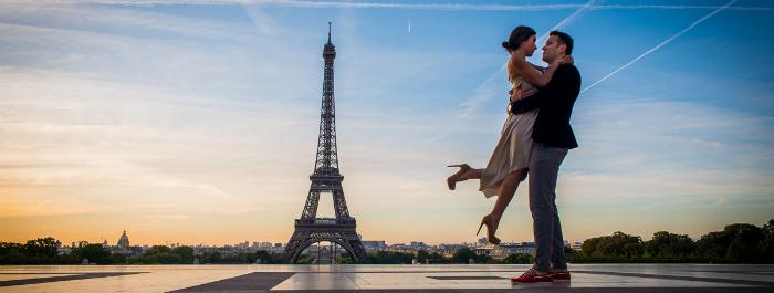 World's first all-diamond ring World's first all-diamond ring World's first all-diamond ring Paris Photographer sunrise Eiffel Tower engagement 1