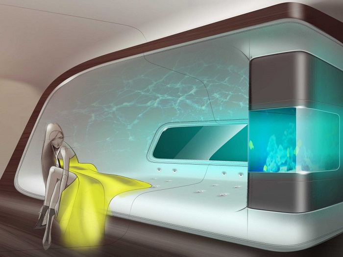 Mercedes and Lufthansa Create Luxury Private Jet interiors mercedes Mercedes and Lufthansa Create Luxury Private Jet interiors 53