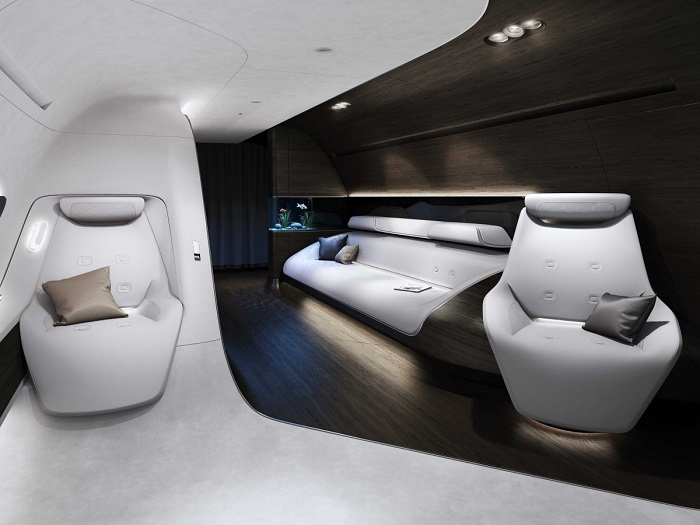 Mercedes and Lufthansa Create Luxury Private Jet interiors mercedes Mercedes and Lufthansa Create Luxury Private Jet interiors 63