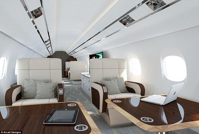 20 Luxury Interiors by Air Jet Designs 20 luxury interiors for your private jet 20 Luxury Interiors For Your Private Jet airjet12