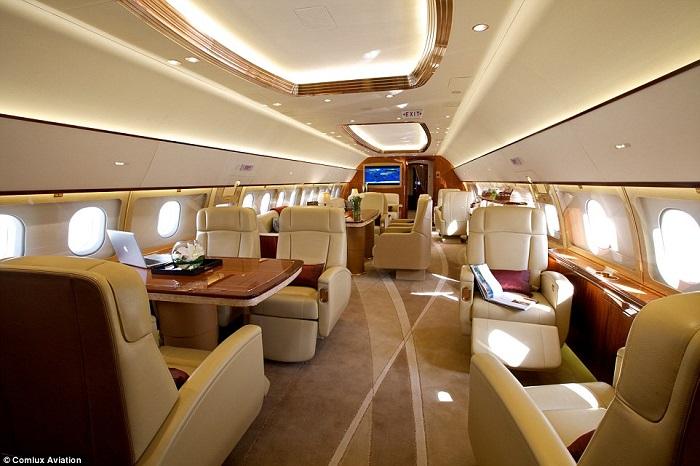 20 Luxury Interiors by Air Jet Designs 20 luxury interiors for your private jet 20 Luxury Interiors For Your Private Jet airjet16