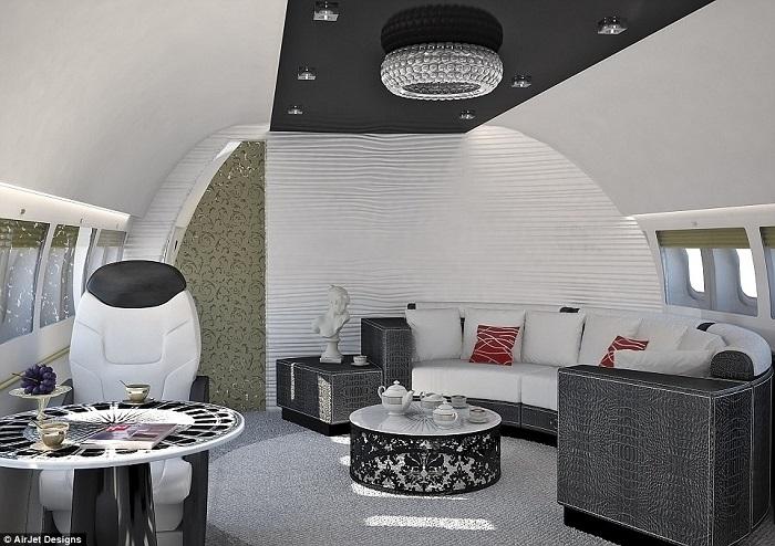 20 Luxury Interiors by Air Jet Designs 20 luxury interiors for your private jet 20 Luxury Interiors For Your Private Jet airjet4