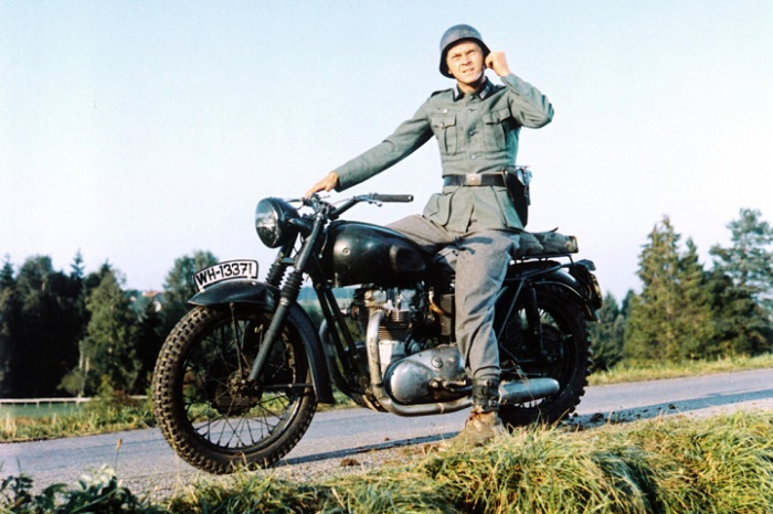 Top 10 Most Iconic Motorcycles in Movies_LuxurySafes Top 10 Most Iconic Motorcycles in Movies Top 10 Most Iconic Motorcycles in Movies 2 great escape