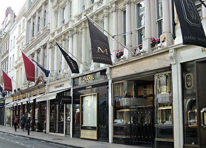 The World S Most Expensive Shopping Streets