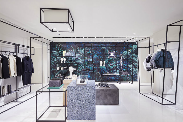 The new Chanel pop-up store in Rome
