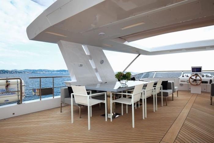 Luxurious yacht interior design Benetti Benetti Vivace 125 Yacht Benetti Vivace 125 Yacht5