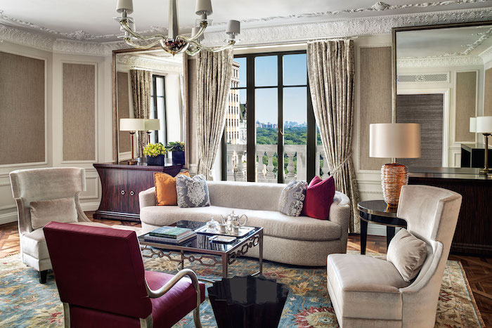 Luxury hotels in new york city for Posh hotels near me