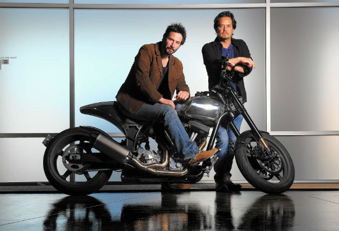 Keanu Reeves motorcycle - Luxury Gifts luxury gifts The Best Luxury Gifts to offer this Christmas Keanu Reeves motorcycle