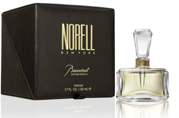 Exclusive Fragance Masterpiece Norell baccarat Norell and Baccarat together for an Exclusive Fragance Masterpiece Norell and Baccarat Fragance Masterpiece