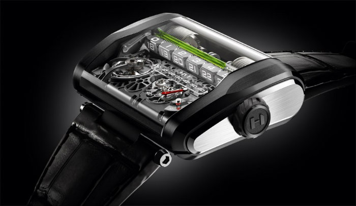 HYT H3 luxury watches luxury watches 10 Outrageous Luxury Watches From 2015 HYT H3 Watch