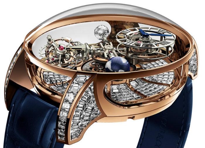 Jacob & Co.Astronomia Tourbillon Luxury Watch luxury watches 10 Outrageous Luxury Watches From 2015 Jacob Co