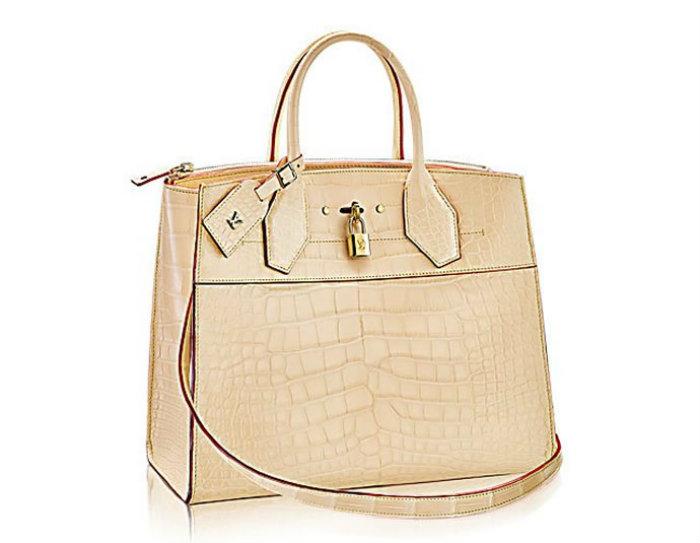 LV City Steamer MM Crocodile Skin louis vuitton Louis Vuitton's Most Expensive Handbag Louis Vuitton City Steamer MM Crocodile Skin