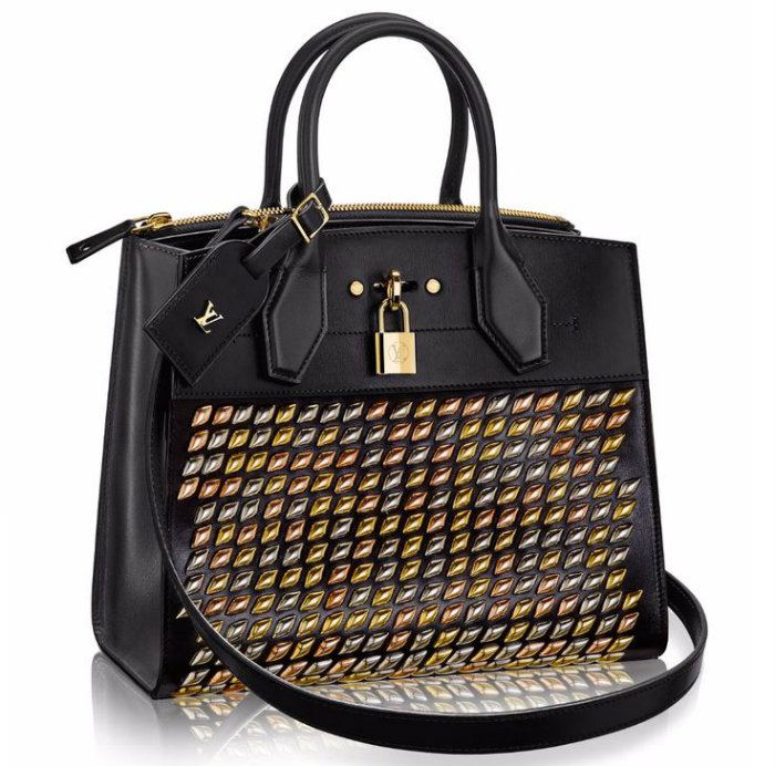 Louis Vuitton Studded City Steamer Tote MM louis vuitton Louis Vuitton's Most Expensive Handbag Louis Vuitton Studded City Steamer Tote MM