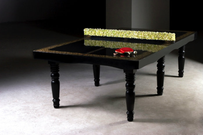 Modern Luxury Ping Pong Table gaming room 20 Playing Tables For a Luxury Gaming Room Modern Luxury Ping Pong Table