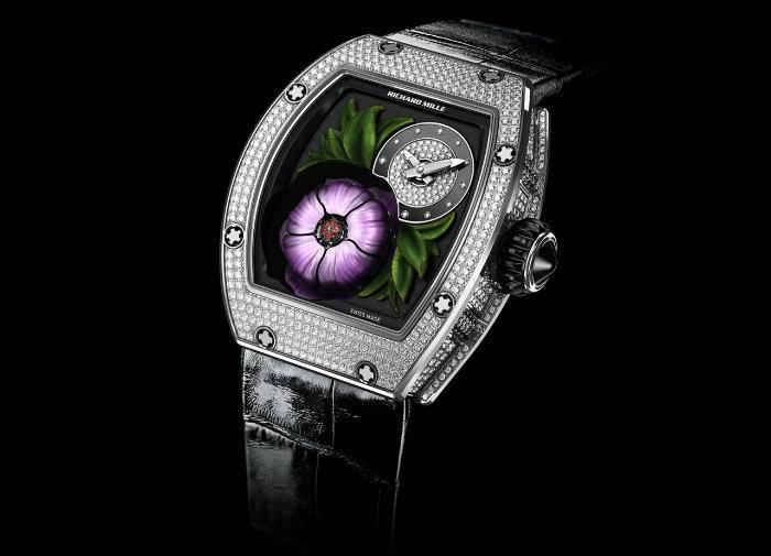 Luxury Watches - Richard Mille Tourbillon Fleuer luxury watches 10 Outrageous Luxury Watches From 2015 Richard Mille Tourbillon Fleuer