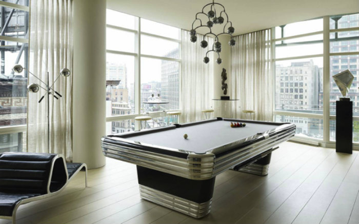 Snooker Retro Table gaming room 20 Playing Tables For a Luxury Gaming Room Snooker Retro Table