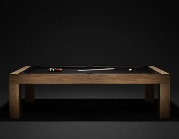 Snooker Table with Clean Lines gaming room 20 Playing Tables For a Luxury Gaming Room Snooker Table with Clean Lines