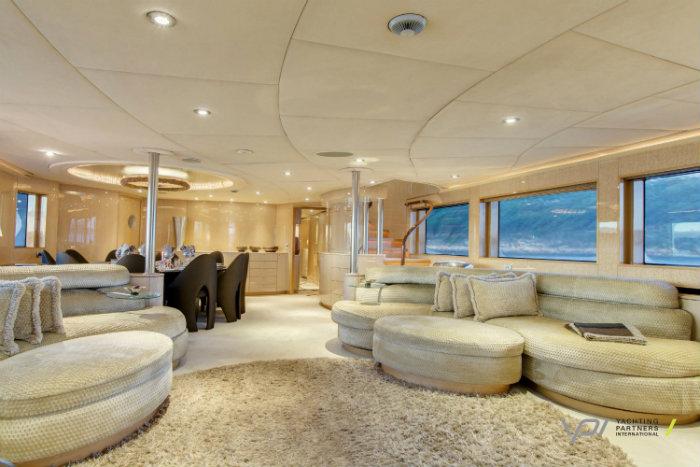 luxury yachts interiors of billionaires