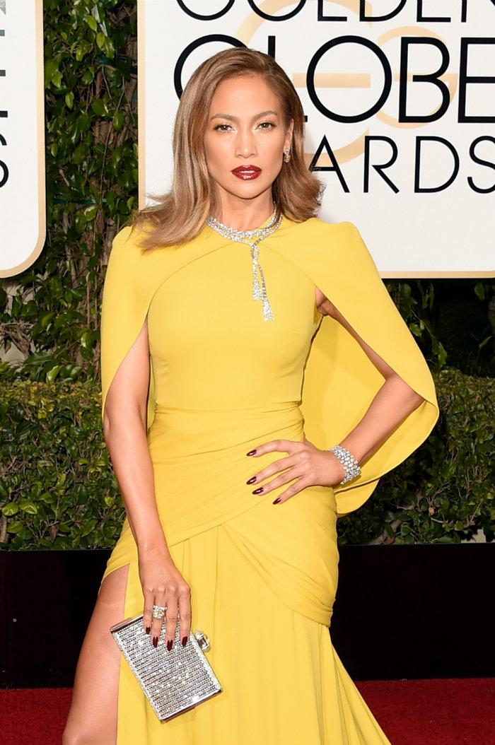 Golden Globes Jennifer Lopez Red Carpet Golden Globes The Golden Globes' 10 Best Celebrity Jewelry Looks Golden Globes Jennifer Lopez Red Carpet
