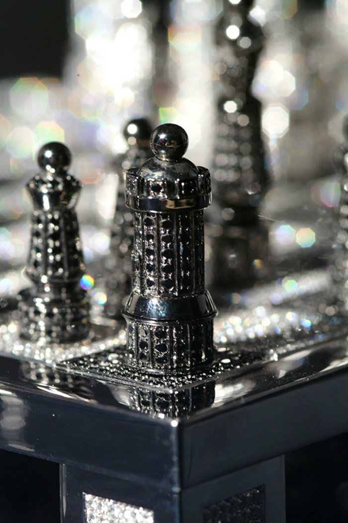 The Most Expensive Chess Set In Diamonds  Most Expensive Chess Set In Diamonds Most Expensive Chess Set In Diamonds Luxury Safes Chess Set in Diamonds