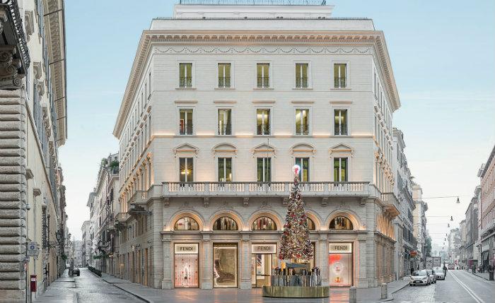 Palazzo Fendi in Rome fendi The Renovated Luxury Palazzo Fendi in Rome Luxury Palazzo Fendi in Rome