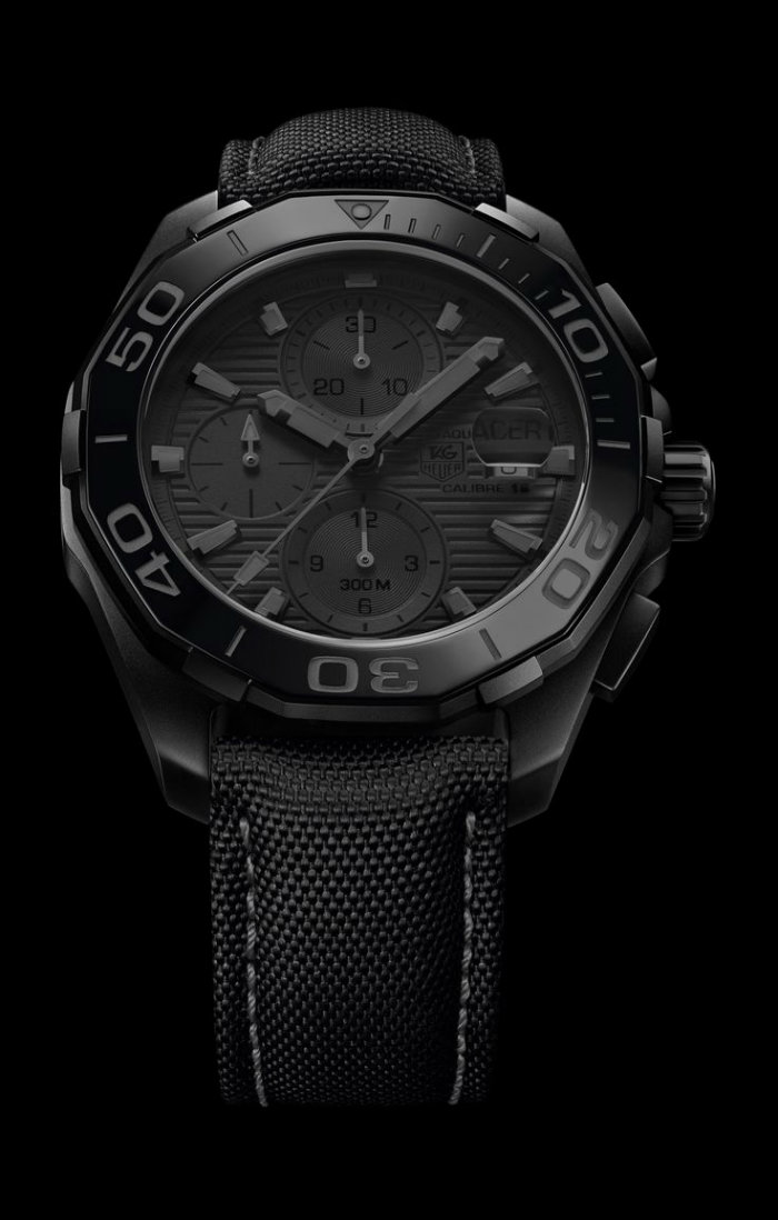 Tag Heuer New Timepiece at Baselworld in Switzerland