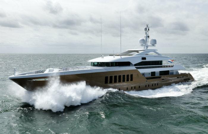 Azamanta Gold Superyacht luxury yacht Top 5 Most Innovative Luxury Yacht Azamanta Gold Superyacht