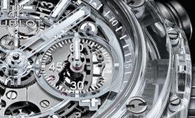 Hublot Limited Edition Saphire Luxury Watch