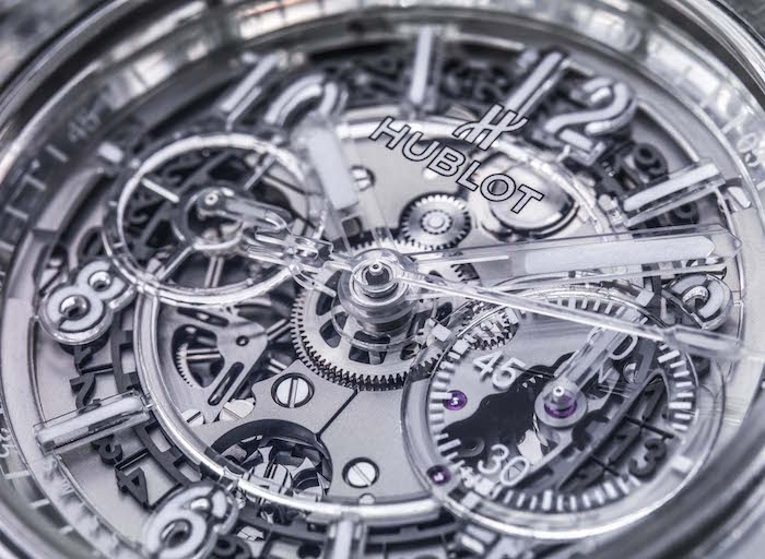 Transparent Expensive Watch