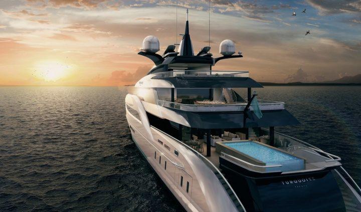 Turquoise 66m Superyacht superyacht New 66-metre Superyacht Concept Revealed Turquoise 66m Superyacht