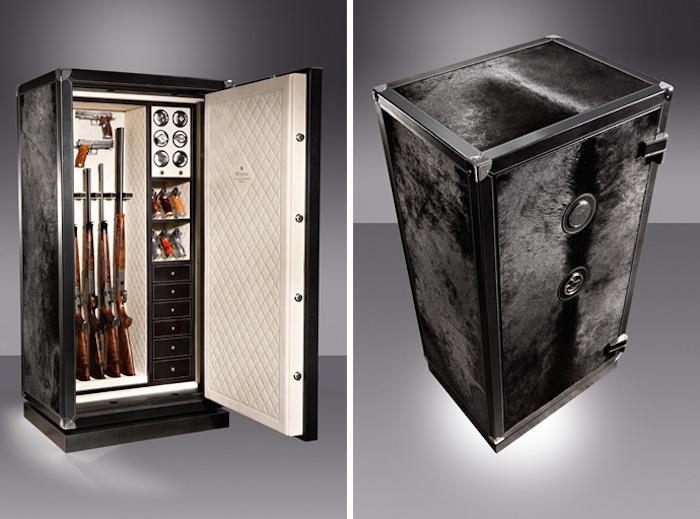 Gun cabinet luxury safes for Luxury home safes