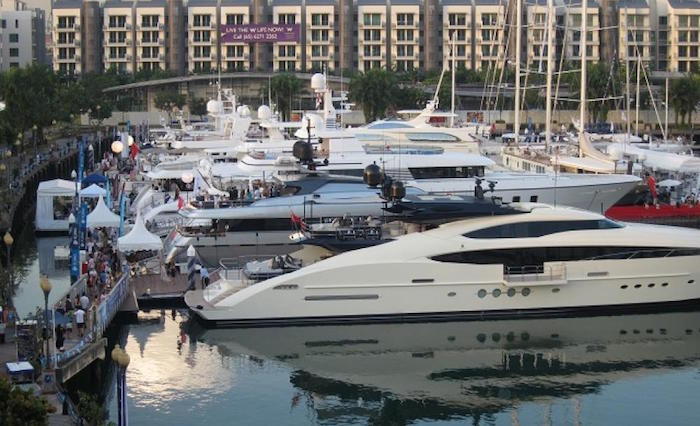 The 2016 edition of the Singapore Yacht Show2 yacht The 2016 edition of the Singapore Yacht Show The 2016 edition of the Singapore Yacht Show2