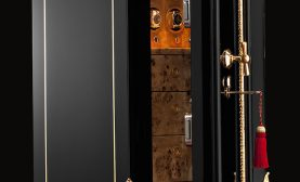 Dˆttling Completes Restoration on a Luxurious 19th Century Jewelry Safe